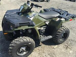 2016 POLARIS SPORTSMAN 570 GREEN - 5YR WARRANTY AVAILABLE CHEAP!