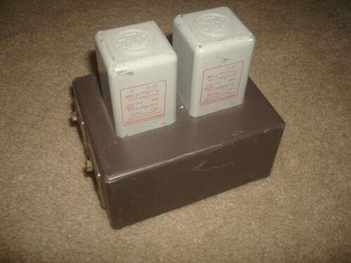Pair of Vintage UTC A-35 Transistor Interstage Transformers