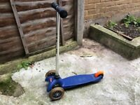 Mini Micro Scooter (Blue)