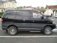 Delica, 7 seats 4x4 (stored in France buyer to collect)