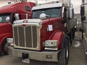 2017 PETERBILT DUMP TRUCK PONY PUP MODEL 567