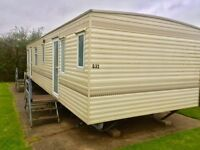 cheap static caravan for sale on Devon bay that is a fantastic park in south Devon pets welcome