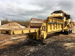 2007 Vermeer HG6000 Horizontal Grinder on Wheels