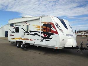 **$161 b/w (oac)** 6305 lb TOY HAULER, GEN, FUEL STN, SLEEPS 6!