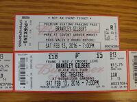 4-Brantley Gilbert Tickets Sat. Feb. 13 @ Bud Gardens  (Exeter)