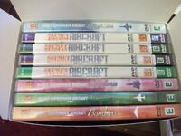 Aircraft DVD's Super Powers Boxed Set of 8