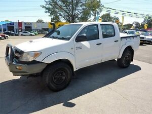 2007 Toyota Hilux KUN26R 06 Upgrade SR (4x4) 5 Speed Manual North St Marys Penrith Area Preview