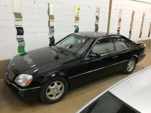 1997 Mercedes Benz CL 500