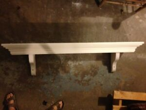 Antique Fireplace Mantle/Shelf