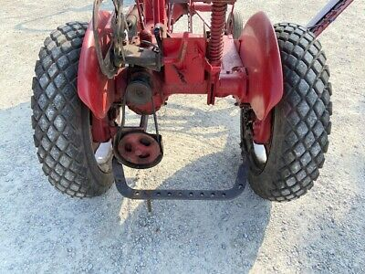 Farmall Cub Or Low Boy Tractor 8.3 X 24 Good Year Turf Tread 85 Tires Ih Rims