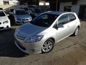 2011 Toyota Corolla ZRE152R MY11 Ascent Sport Silver Pearl 4 Speed Automatic Hatchback Sylvania Sutherland Area Preview