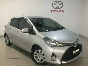 2015 Toyota Yaris NCP131R SX Silver 4 Speed Automatic Hatchback West Ryde Ryde Area Preview