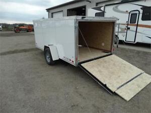 Low Enclosed Utility Trailer