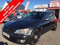 LEXUS IS 200 SPORT NEW MOT (silver) 2001