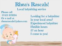 Rhea's Rascals Baby Sitting!