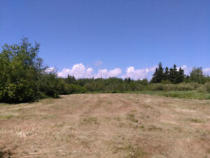 Large beautiful waterview building lot for sale in Western PEI