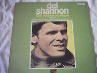 Vinyl LP Del Shannon 10th Anniversary Album Sunset Records SLS 50211