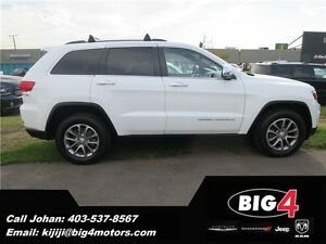 2014 Jeep Grand Cherokee LTD, leather, pano roof, pwr tailgate