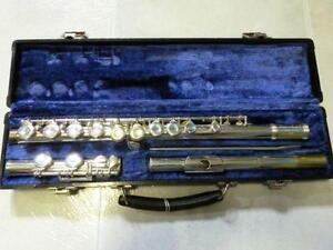 Silver Plated Flute