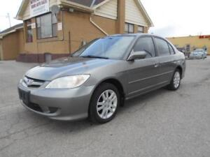 """2005 HONDA Civic Sdn LX-G 1.7L 5Speed Sunroof """"AS IS"""" Special"""