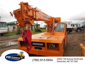 1998 Broderson IC80-2E 8 ton 4x4 Carry Deck Crane