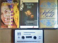 A-Z CSL ROCK POP & CLASSICAL COMPILATION PRERECORDED CASSETTE TAPES BALLADS DANCE ROMANCE AND MORE.
