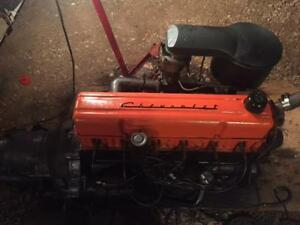 1956 235 ci engine and powerglide trans