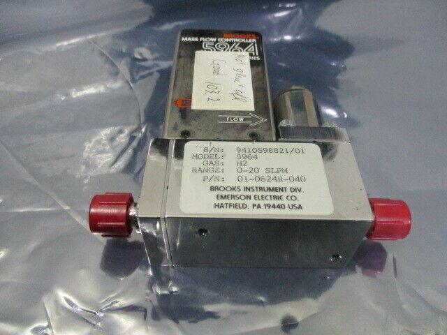 Brooks 5964, 5964, Mass Flow Controller, H2 0-20 SLPM, 421679