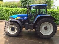 2004 New Holland TM175 40 kph c/w Front Linkage
