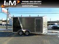 NEW 2016 CARGO PRO 7X14' CONTRACTOR TRAILER