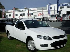 2012 Ford Falcon FG MK2 (LPi) White 6 Speed Automatic Utility Belconnen Belconnen Area Preview