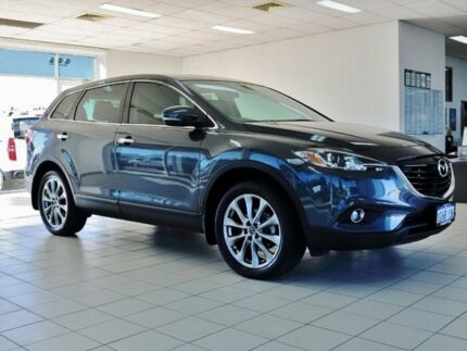 2015 Mazda CX-9 MY14 Luxury (FWD) Meteor Grey 6 Speed Auto Activematic Wagon Morley Bayswater Area Preview