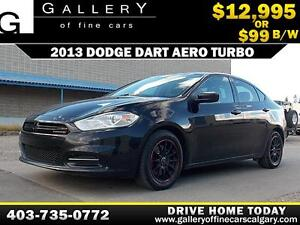 2013 Dodge Dart Aero Turbo $99 BI-WEEKLY APPLY NOW DRIVE NOW