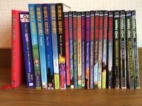 Set of 22 Horrible Histories and Horrible Science books