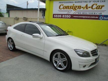 2010 Mercedes-Benz CLC200 Kompressor CL203 Evolution White 5 Speed Automatic Coupe