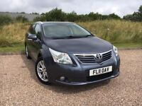 Toyota Avensis Estate Automatic 2011 *LOW MILES, SAT NAV, REVERSING CAMERA*