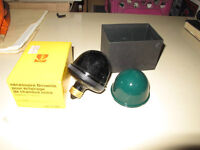 Lampe inactinique Brownie Kodak , laboratoire , chambre noire