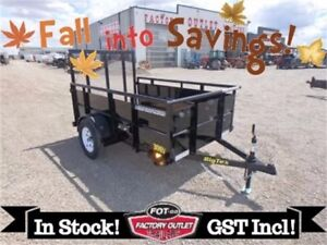 FALL INTO $AVING$! 5x8 Utility Trailer by Big Tex ~4' Rampgate~