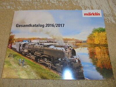 Märklin 15740 Gesamtkatalog 2016/2017 Deutsche Ausgabe #NEU#