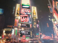 Time Square picture New York NYC canvas print for sale viewing welcome can also deliver London uk