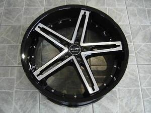 """Kit de mags avec pneus neufs 20"""" #M44"""
