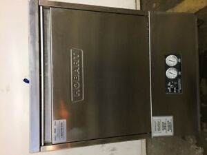 HOBART UNDER COUNTER DISHWASHER, Cycles in 2 - 3 minutes.
