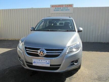 2009 Volkswagen Tiguan 5NC MY09 103 TDI Silver 6 Speed Manual Wagon Windsor Gardens Port Adelaide Area Preview