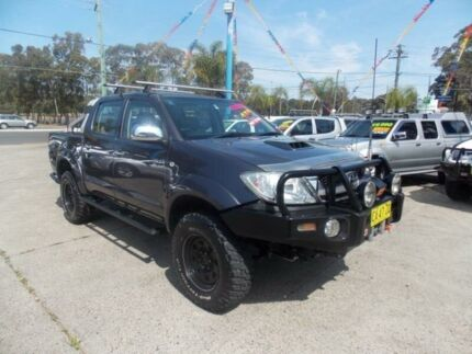 2009 Toyota Hilux KUN26R MY09 SR5 Grey 5 Speed Manual Utility Cabramatta Fairfield Area Preview