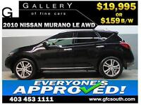 2010 NISSAN MURANO LE AWD *EVERYONE APPROVED* $0 DOWN $159/BW!