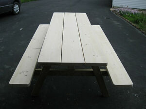 WOLMANIZED 7 FT PICNIC TABLE