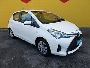 2015 Toyota Yaris NCP130R Ascent White 4 Speed Automatic Hatchback Winnellie Darwin City Preview