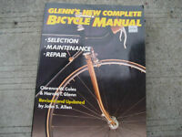 glenn's new complete bicycle manual. Like new. By clarence w. Co