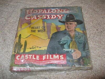 "Castle Films 16MM film ""Heart of the West"" in original box"