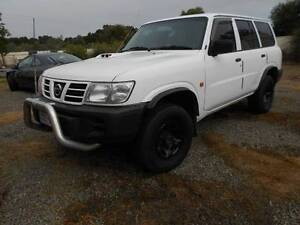 REDUCED! 2002 NISSAN PATROL GU III WAGON TURBO DIESEL AUTO Hendon Charles Sturt Area Preview